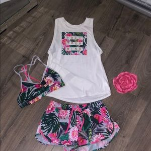 Complete Workout Outfit 🌺